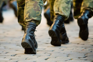 Problem Pupils in Camouflage, Forward March